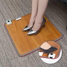tapis chauffant bureau pieds warmer chauffée pied tapis électrique pied chauffe thermostat