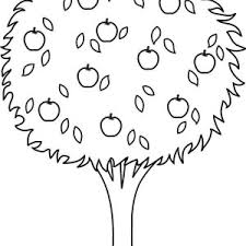 apple tree coloring page apple tree coloring pages beautiful awesome to do free printable