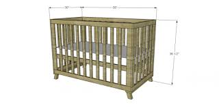 Free Wooden Cradle Plans by Free Diy Furniture Plans To Build A Land Of Nod Inspired Low Rise