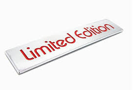 limited edition 10pcs abs limited edition car emblems decoration limited edition