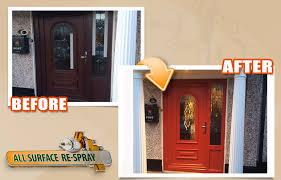 Pvc Exterior Doors Paint Your Upvc Door To Any Colour