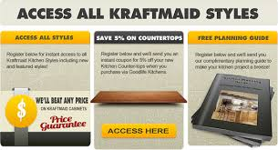 KraftMaid Product Information Selection  Specifications - Kitchen cabinet pricing guide