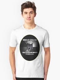 Wolf T Shirt Meme - funny wolf meme aides au citron 篏 t shirts et sweats 罌 capuche