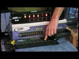 american dj duo station lighting controller dj light controller ez 8 channel dance lighting control youtube