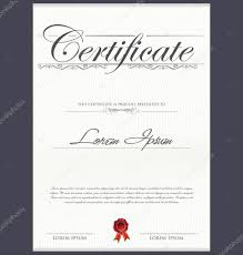 certificate template stock vector totallyout certificate template stock illustration