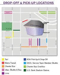 map us bank stadium transportation u s bank stadium