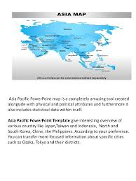 effective powerpoint ppt template for asia pacific map authorstream