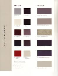 Sem Interior Dye Interior Color Codes