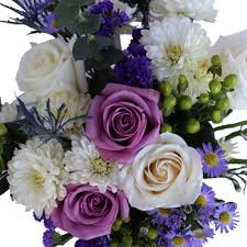 purple and white wedding and white wedding centerpieces