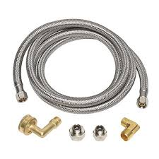 Kitchen Faucet Water Supply Lines Plumbing Parts And Plumbing Repair At The Home Depot