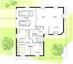 plan plain pied 5 chambres plan maison plain pied plan maison 5 chambres plain pied plan