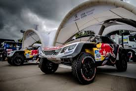 peugeot dakar peugeot in the starting blocks for silk way rally peugeot sport