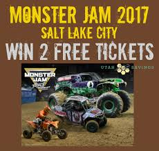 monster jam salt lake discount code 6th u0026 7th giveaway