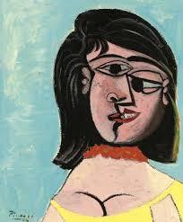 Dora Maar In An Armchair Pablo Picasso Head Of A Woman Dora Maar 1937