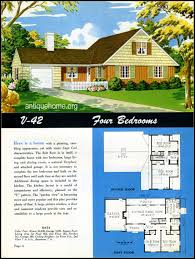 1949 ranch style homes from national plan service and