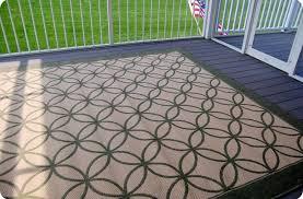 Best Outdoor Rug For Deck Outdoor Garden Enticing Brown Outdoor Rug Design For Patio With