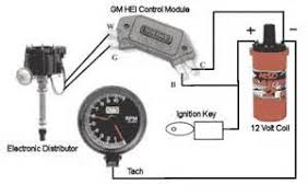 gm hei distributor and coil wiring diagram yahoo search results
