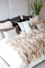Faux Fur Throw Rugs 178 Best Decorating With Fur Images On Pinterest Home Spaces