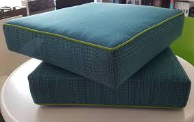 Cushion Ottoman Custom Outdoor Ottoman Cushion Outdoor Fabric Central