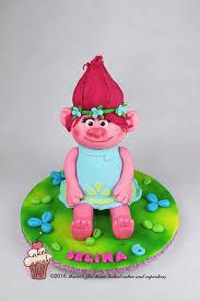 poppy trolls cake cake by maria u0027s cakesdecor