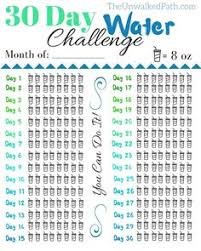 Water Challenge How To Do 30 Day Water Challenge Free Printable Water Challenge And Free