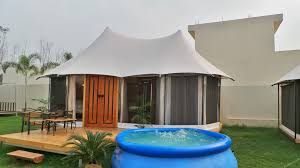 Permanent Tent Cabins Resort Tents Luxury Resort Tent Permanent Semi Permanent Tent