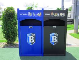 bentley university our customers love our recycling stations cleanriver