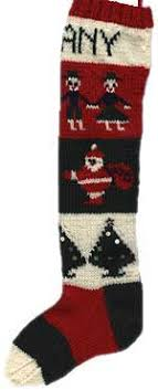 knitting pattern for christmas stocking free free knitting pattern personalised christmas stocking from 1945