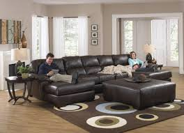 Sectional Sofa With Double Chaise Jackson Lawson Double Chaise Sectional Sofa Image 28 Chaise Design