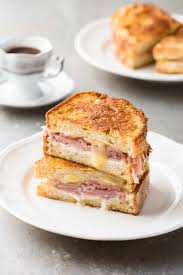 monte cristo ham cheese french toast sandwich recipetin eats