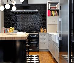 Mediterranean Kitchen Ideas 31 Black Kitchen Ideas For The Bold Modern Home Freshome Com