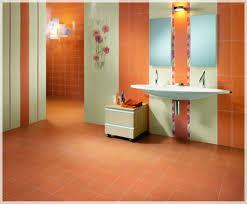 bright bathroom with orange color ideas for striking look comfy bathroom comfy home bathroom ideas facilitating the best bathing time bright bathroom with orange