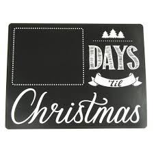 countdown to christmas day chalkboard wall sticker 8 inch www countdown to christmas day chalkboard wall sticker 8 inch