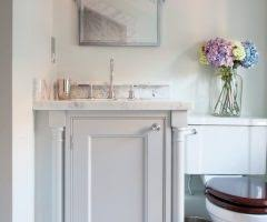 dallas acrylic vanity tray bathroom traditional with white painted