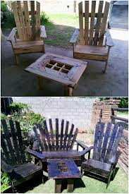 Pallets Patio Furniture by Innovative Ideas To Repurpose Old Wooden Pallets Diy Home Decor