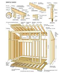 Diy Garden Shed Plans by Simple To Build Backyard Sheds For Any Diyer Free Backyard And