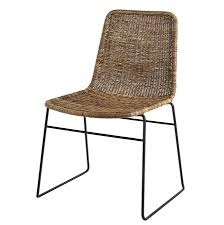 Woven Chairs Dining Salsa Rattan Dining Chair Trade Furniture Company Within Chairs