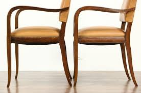 pair of midcentury modern 1960 u0027s vintage danish leather library or