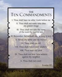 tithing is not in the 10 commandments yet it is a important
