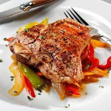 cuisiner cote de veau recette côtes de veau aux trois poivrons