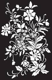 imagenes blancas en fondo negro flores blancas sobre fondo negro pinturas para la pared cuadros