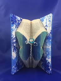 origami home decor butterfly book art completed folded book origami home decor