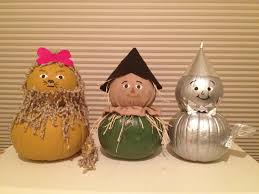 pumpkin decoration images painted pumpkins dorothy and the scarecrow the wizard of oz