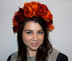 day of the dead headband make your own diy flower crown for dia bloompop