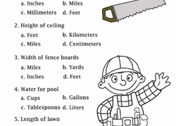 4th grade measurement worksheets u0026 free printables education com