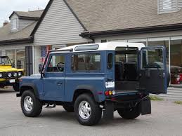 vintage range rover defender 1995 land rover defender 90 station wagon 385 copley motorcars