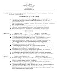 Manufacturing Experience Resume Over 10000 Cv And Resume Samples With Free Download Cse Resume
