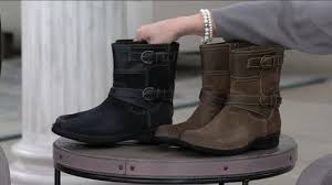 womens boots qvc clarks suede ankle boots whistle ranch page 1 qvc com