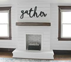 i u0027m so excited to be sharing our diy shiplap fireplace with you