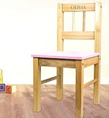 childs wood chair personalised wooden childrens rocking chairs